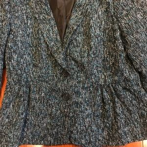 LOFT Jackets & Coats - Women's Ann Taylor Loft Blazer Sz. 10 Boucle/tweed